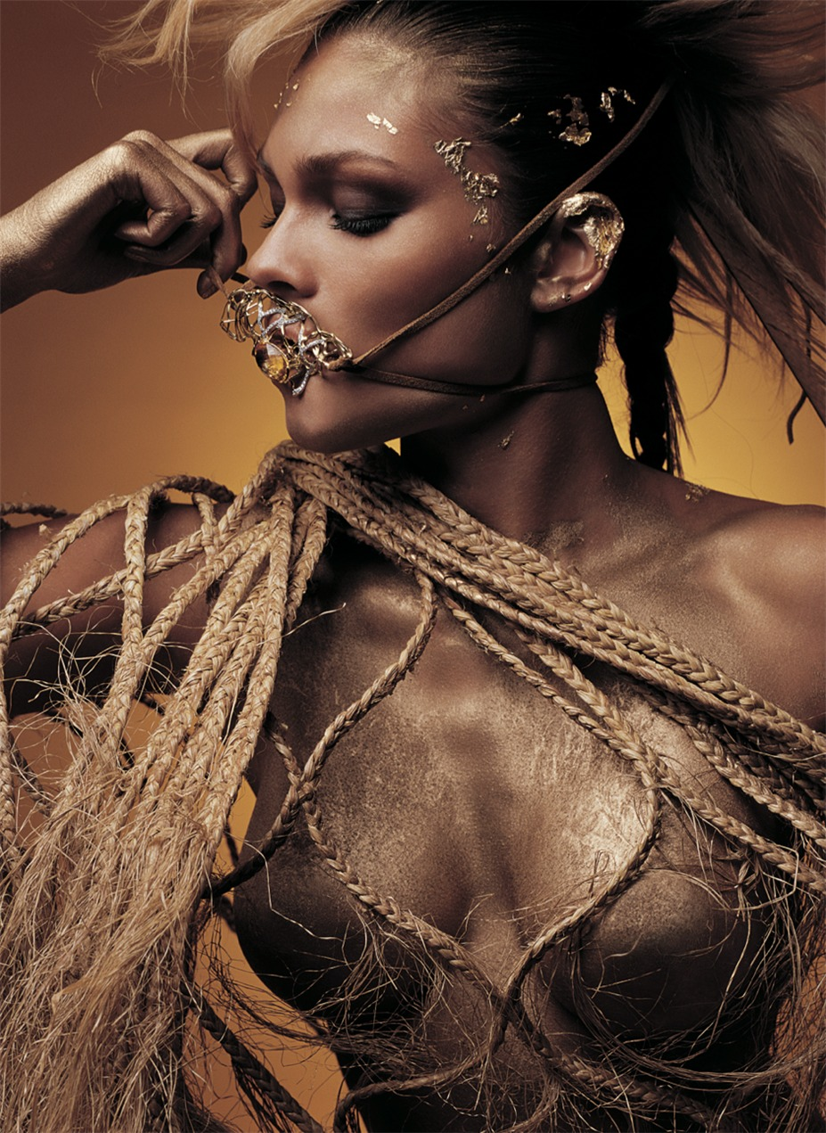 model - Jewelry campaing Warrior by Valerio Trabanco