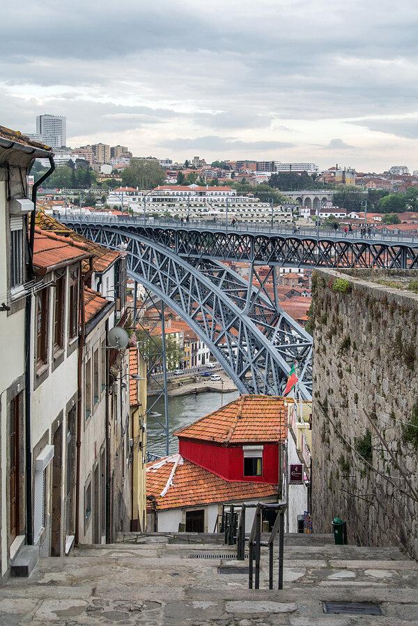 мост Ponte Dom Luis I