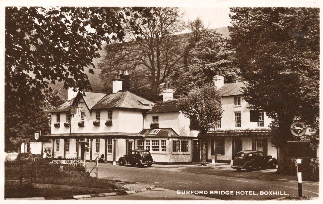 Бурфорд Бридж, Суррей. 1930