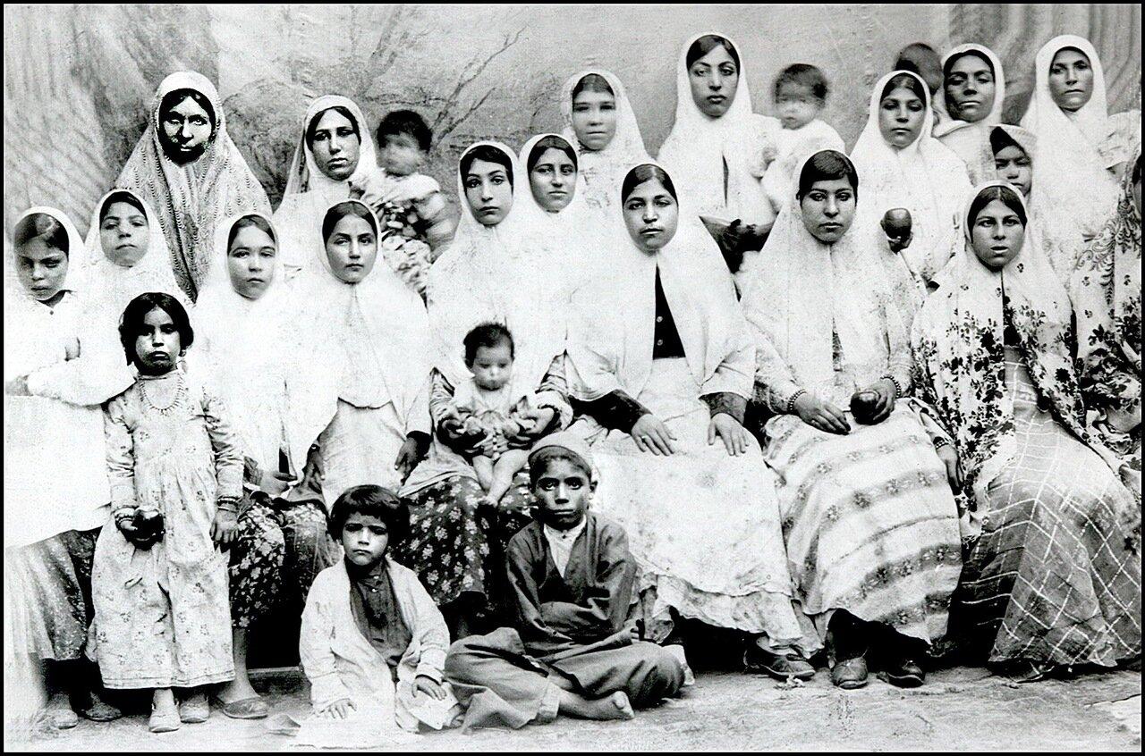Свадебная церемония, Исфахан, 1900