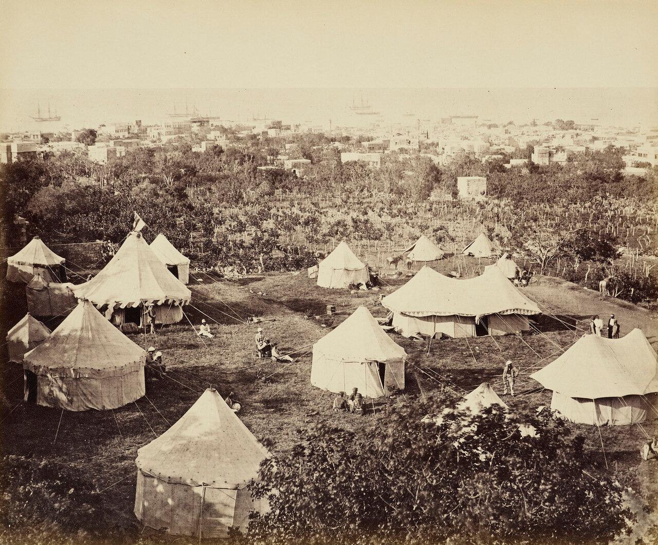 6 мая 1862.Лагерь в Бейруте, Ливан