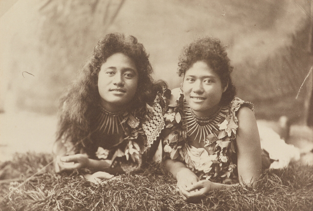 Две самоанки 1905