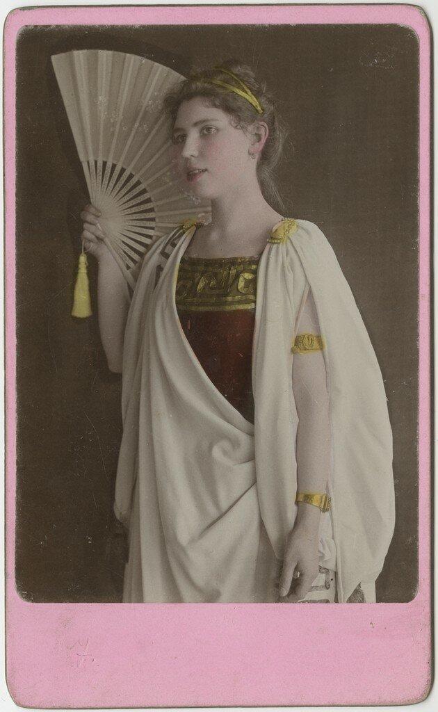 1890-е. Вера Шлиппенбах, урожденная цур Мюлен