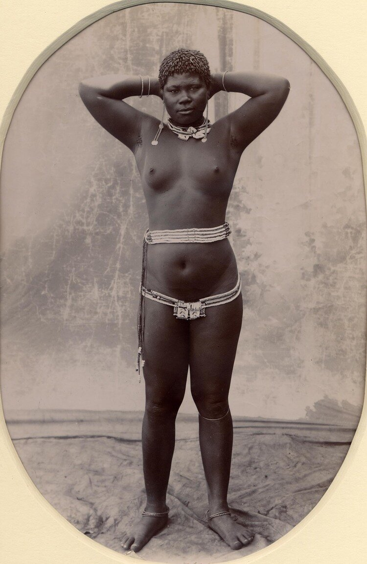 Зулуска. Южная Африка, конец XIX века