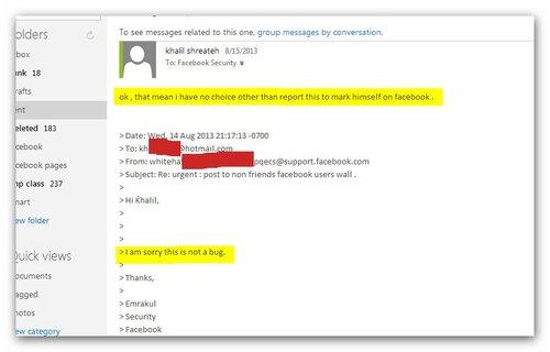 Хакер из Палестины взломал страницу основателя Facebook