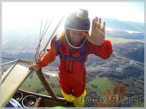 Американцы сняли экстремальный прыжок на видео