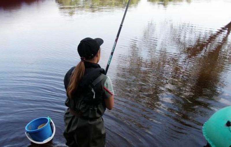 рыбалка на заре тест