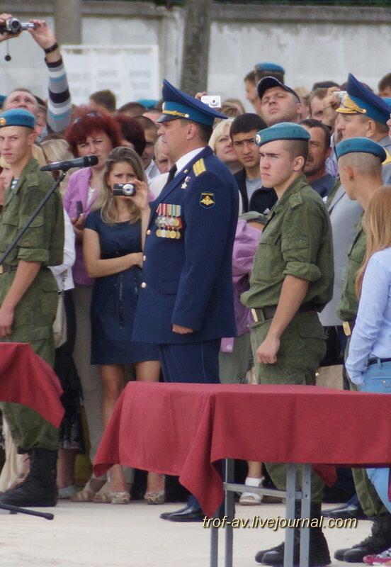 Присяга и день ВДВ в 45 полку, Кубинка