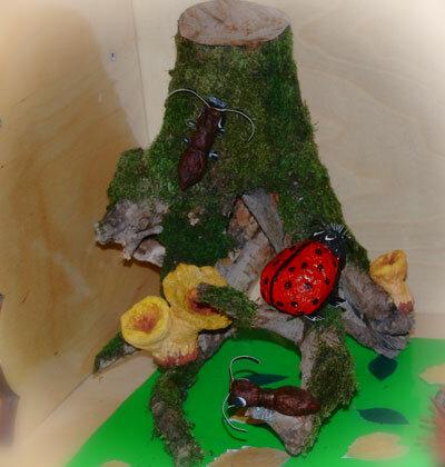 Поделки из коряги в детский сад 45