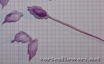 Цветок из ткани своими руками. Выкройка (схема) георгины (георгина).