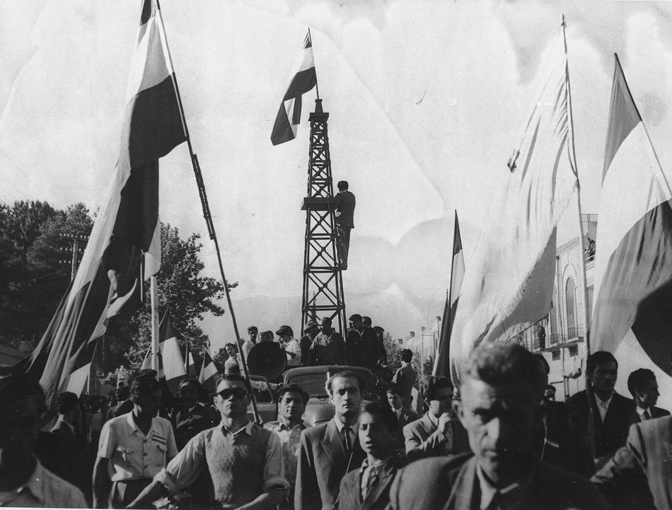 Iran Persia Demonstrations 1951