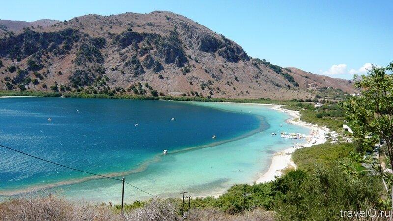 Крит. Озеро Курнас