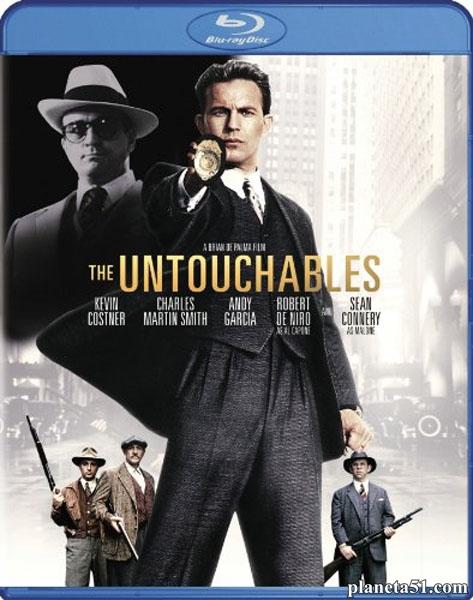 Неприкасаемые / The Untouchables (1987/BDRip/HDRip)