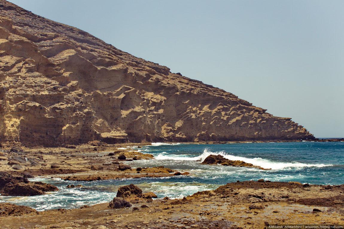 Путешествие по Тенерифе: День 4: Бухта голой горы