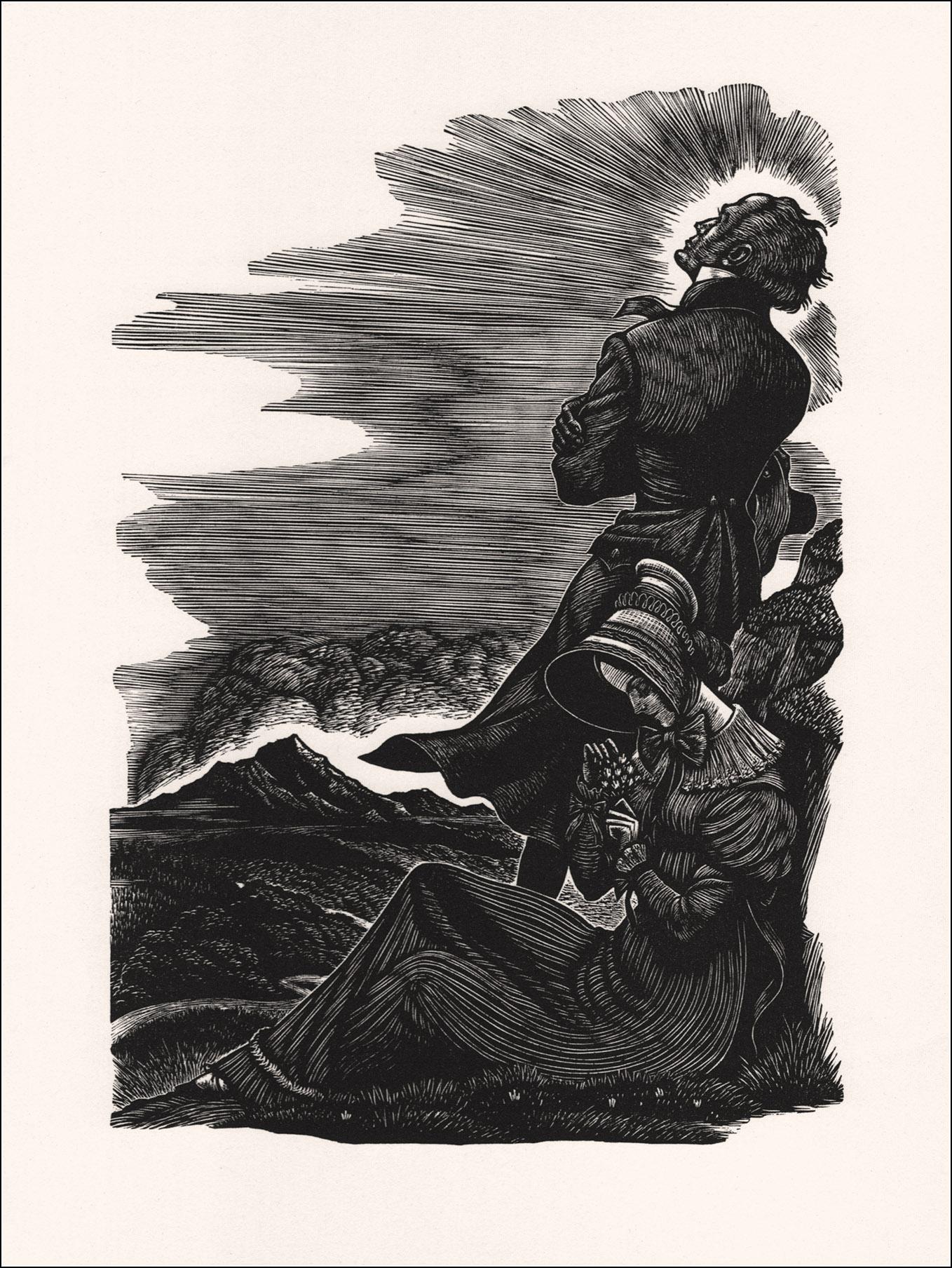 Jane Eyre Ill Fritz Eichenberg Book Graphics