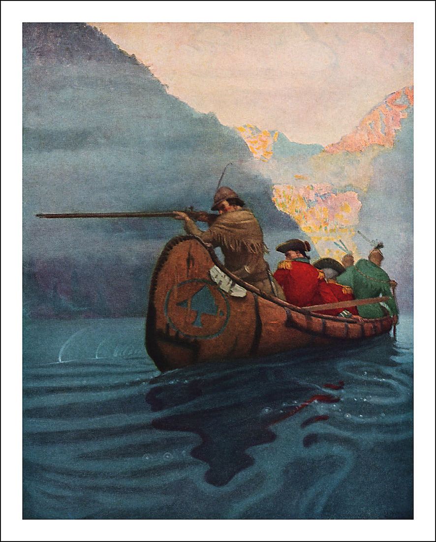 N.C. Wyeth, The Last of the Mohicans