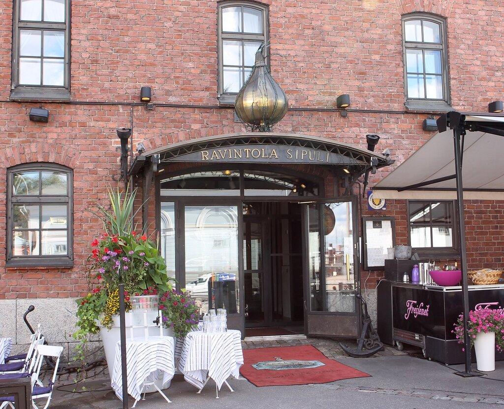 Helsinki. The restaurant Ravintola Sipuli (Ravintola Sipuli,