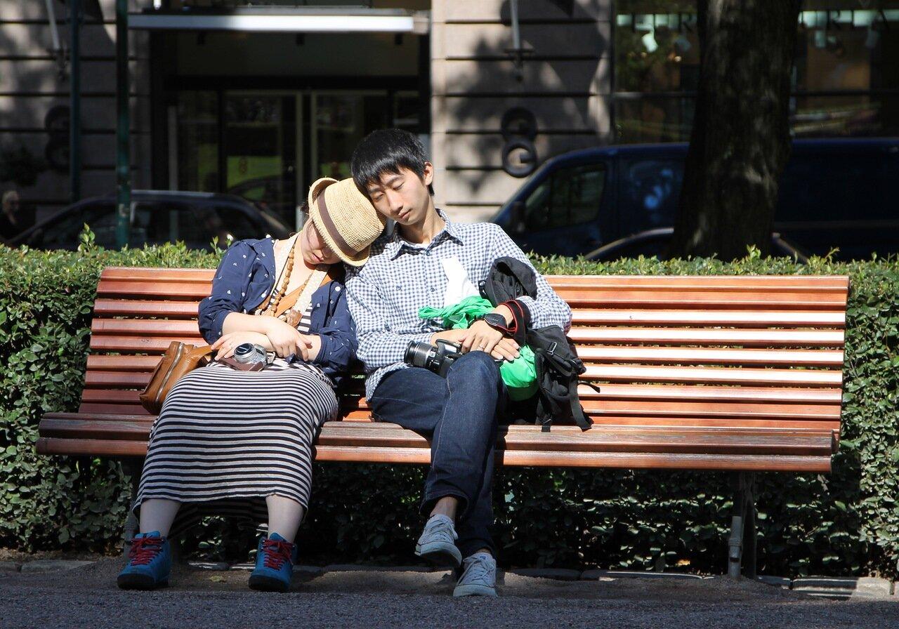 Helsinki. Esplanade park