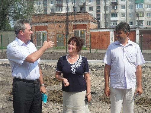 Владимир Ларионов провел выездное совещание по проверке готовности к сдаче новых детских дошкольных образовательных учреждений