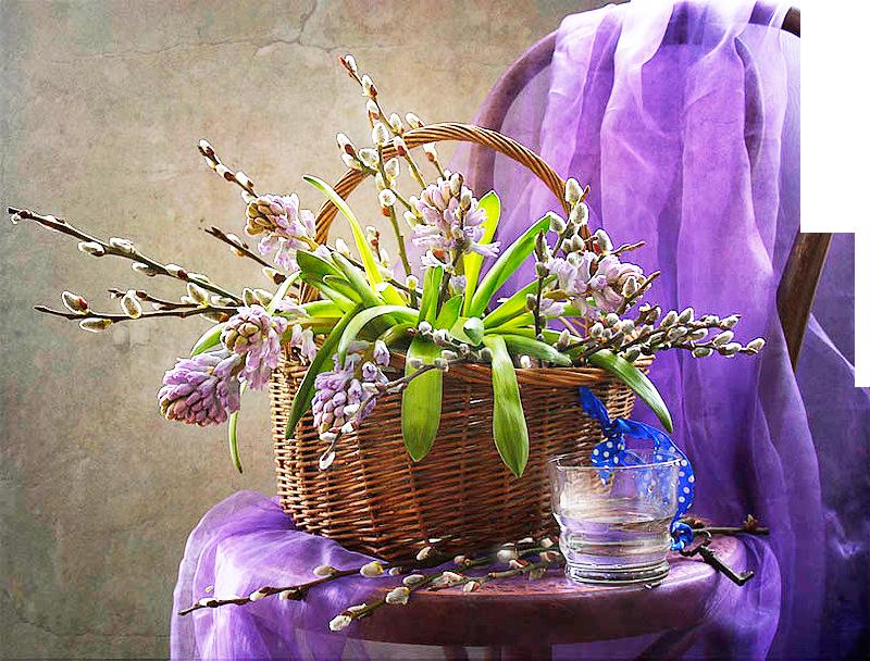 Открытки с воскресным с праздником ветки, открыток цветов открытки