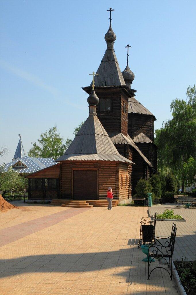 Церковь преподобного Сергия Радонежского в Свято-Троицком женском монастыре