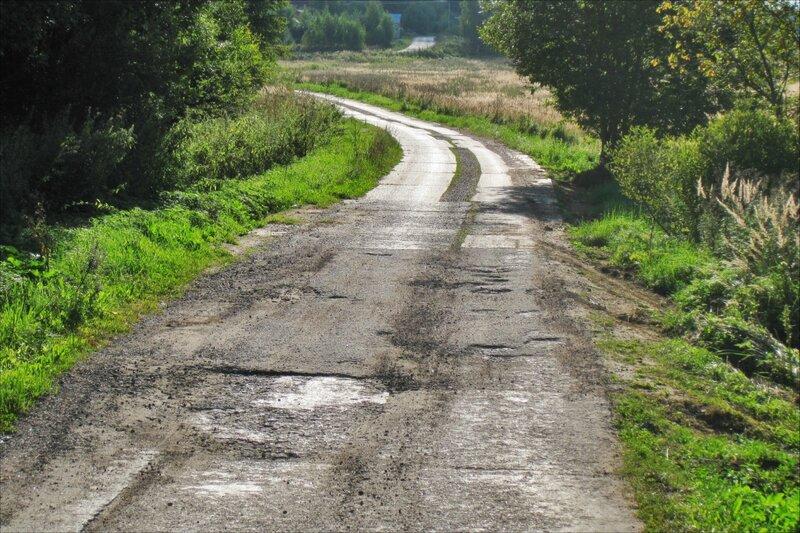 Дорога из Бяконтово в Протасово