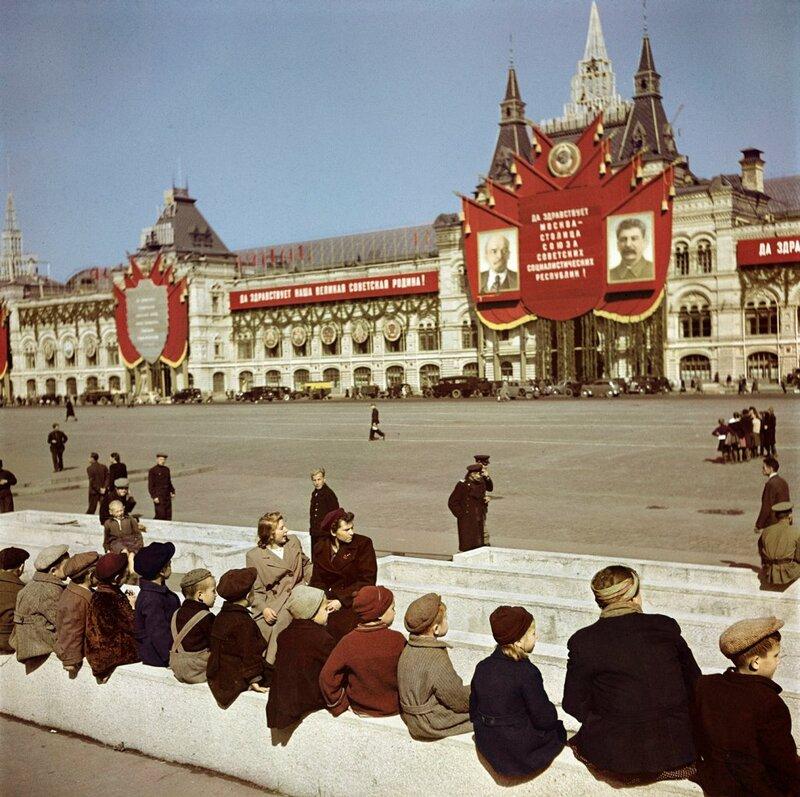 Фото Роберта Капы, 1947 год