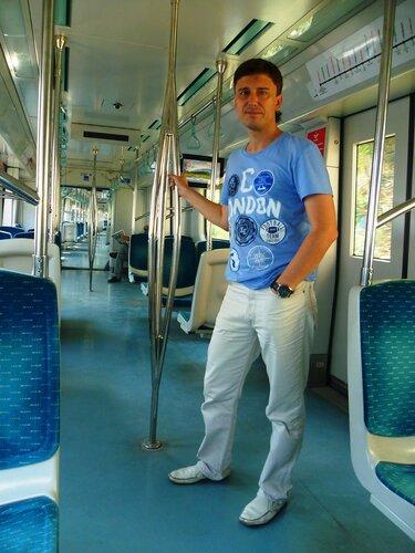 Электричка в Стамбуле (Train in Istanbul).