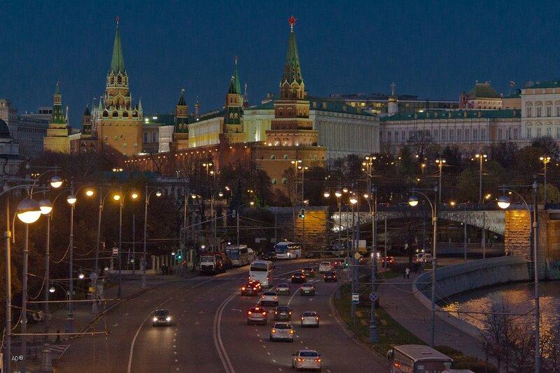 Ночная Москва. Часть II