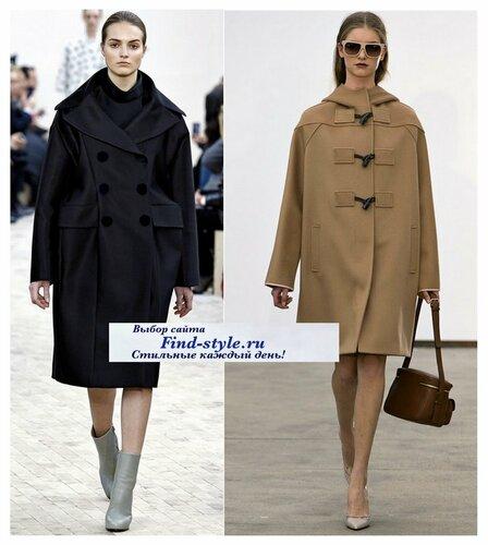 пальто прямого силуэта, пальто прямого покроя, как выбрать пальто, модные пальто на осень, с чем носить пальто, фото, что будет модно осень-зима 2013-2014