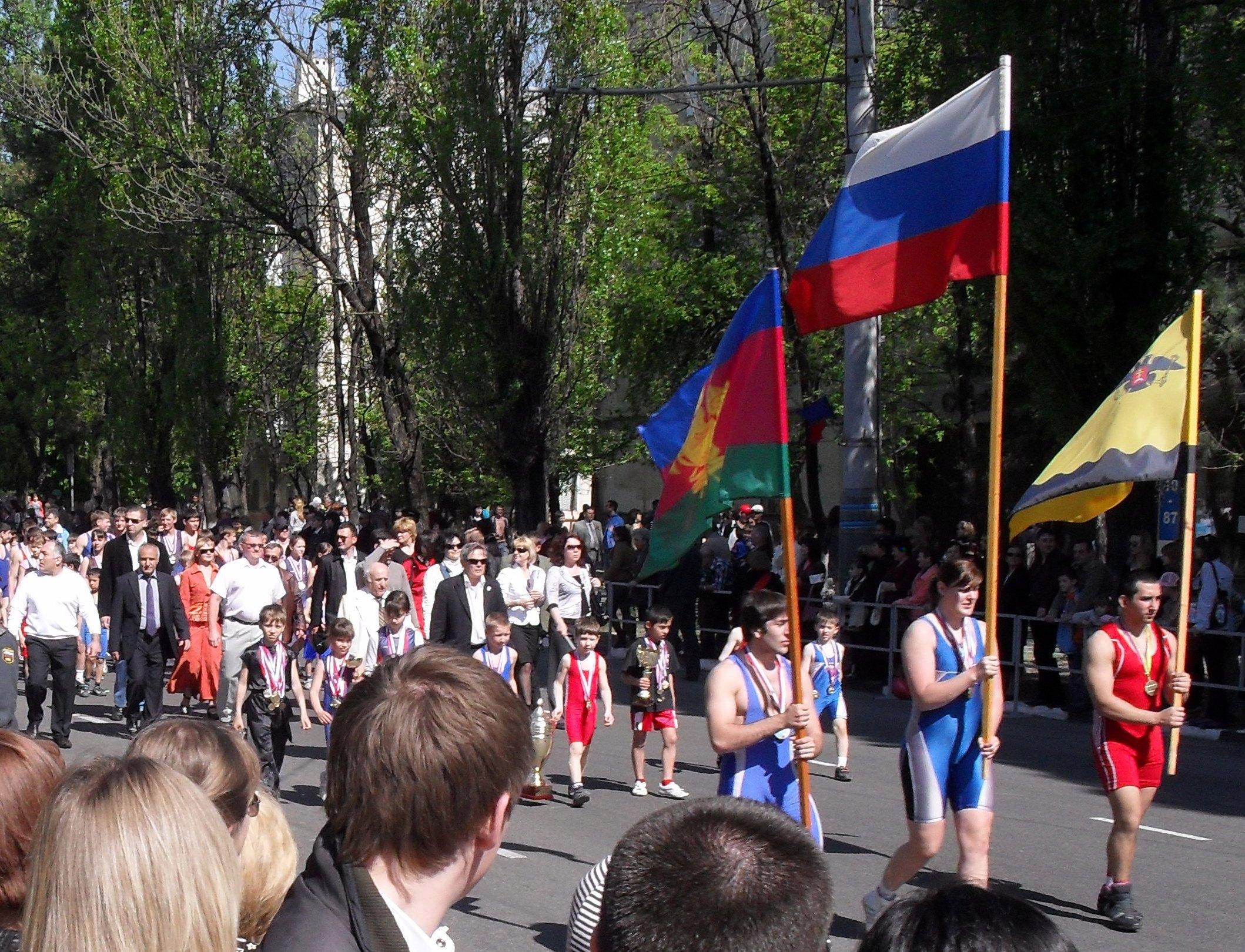 В Новороссийске, весна 2010