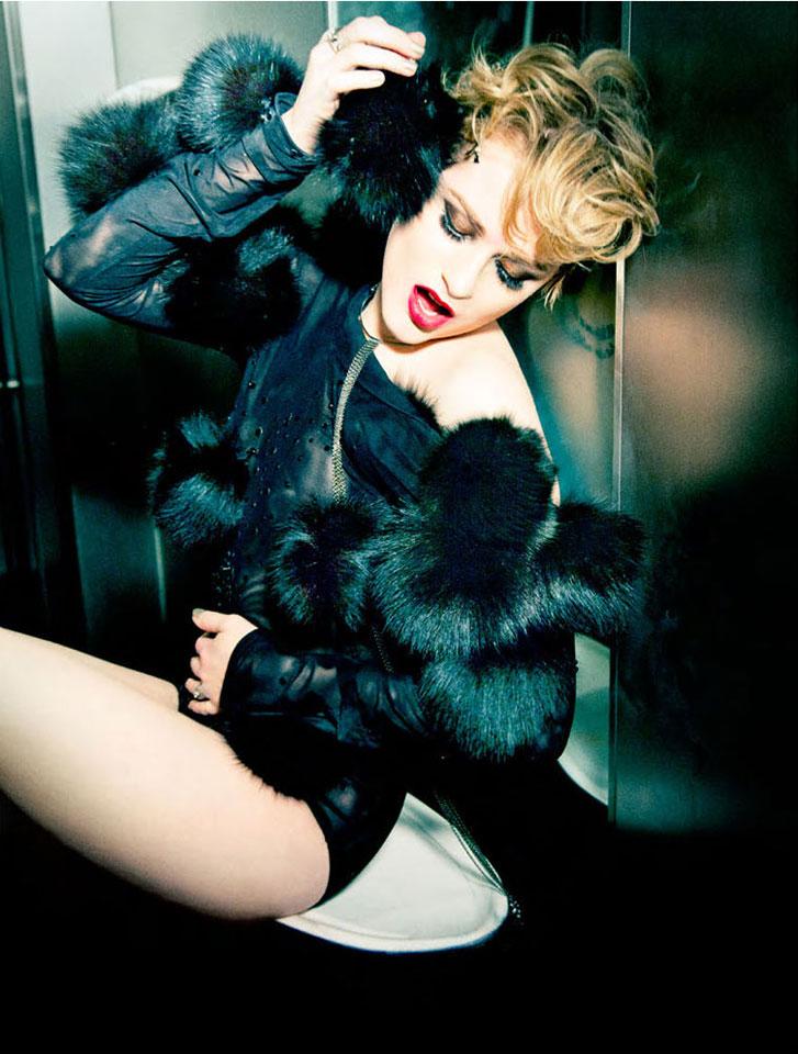 модель Ивэн Рэйчел Вуд / Evan Rachel Wood, фотограф Ellen von Unwerth