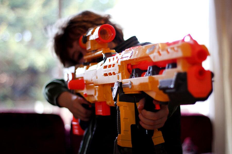 В столице Бразилии запрещают любое игрушечное оружие