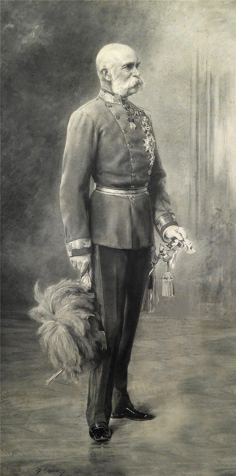 Kaiser Franz Josseph I. von Österreich 1900