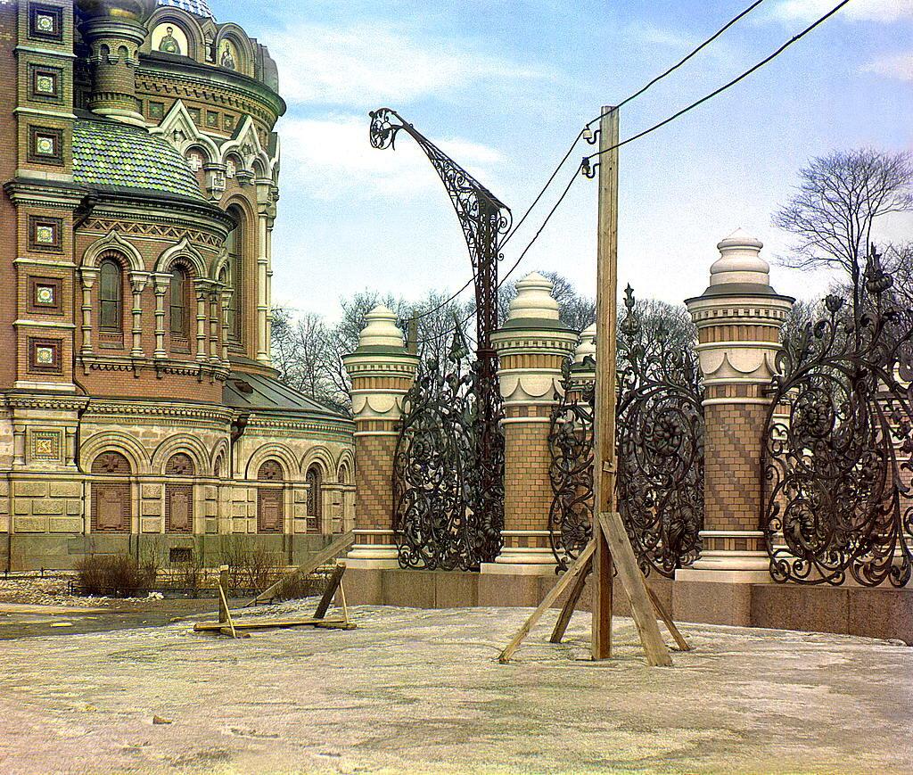 Деталь храма (Воскресения на Крови). Не позже 1905