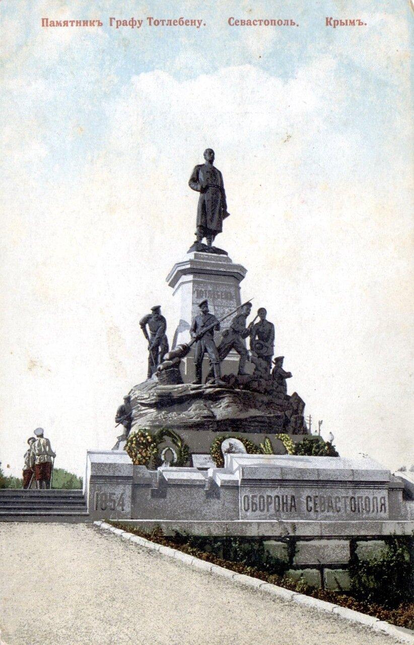 Памятник Графу Тотлебену