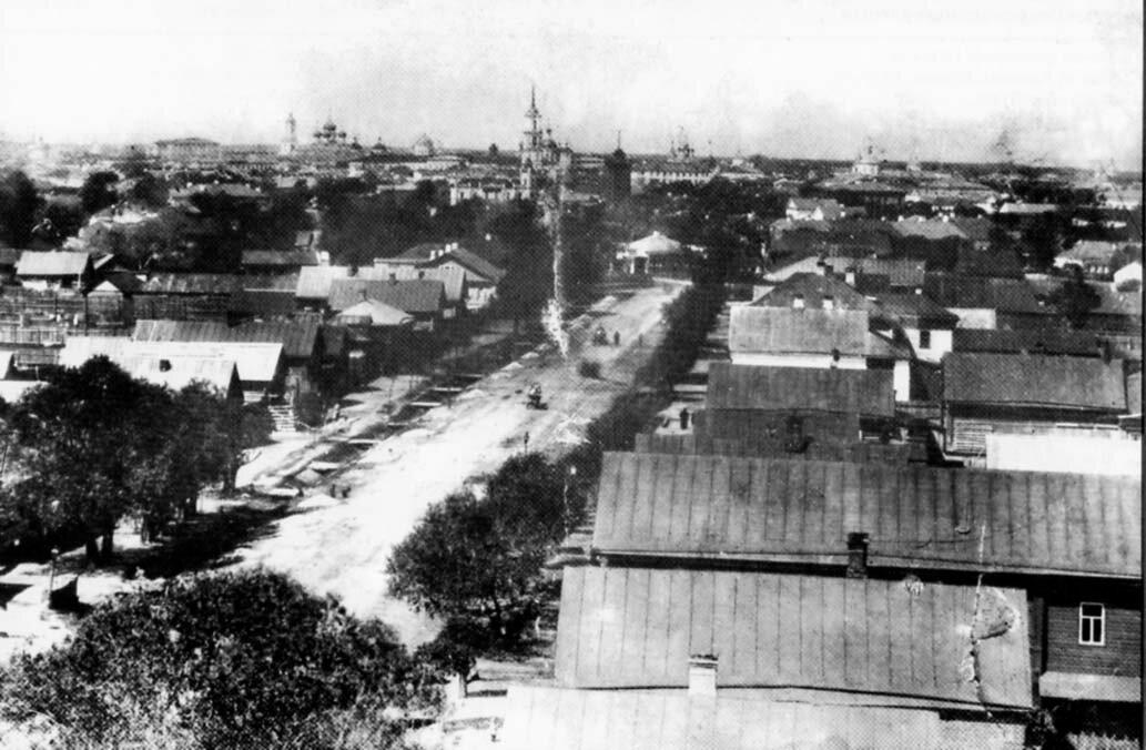 Ямская улица. 1900