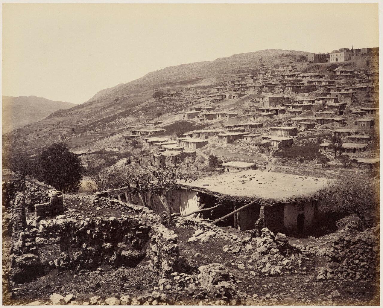 27 апреля 1862. Рашайя. Ливан