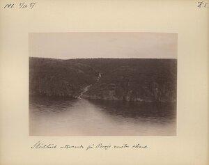 5.9.1887 в 17-18. Ручей возле монастыря на реке Поной