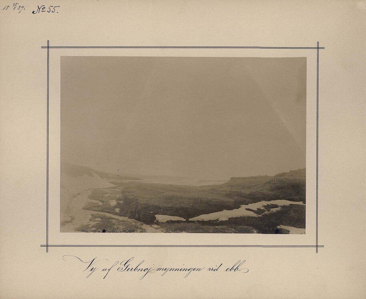 28.5.1889. Вид Gubnojin во время прилива