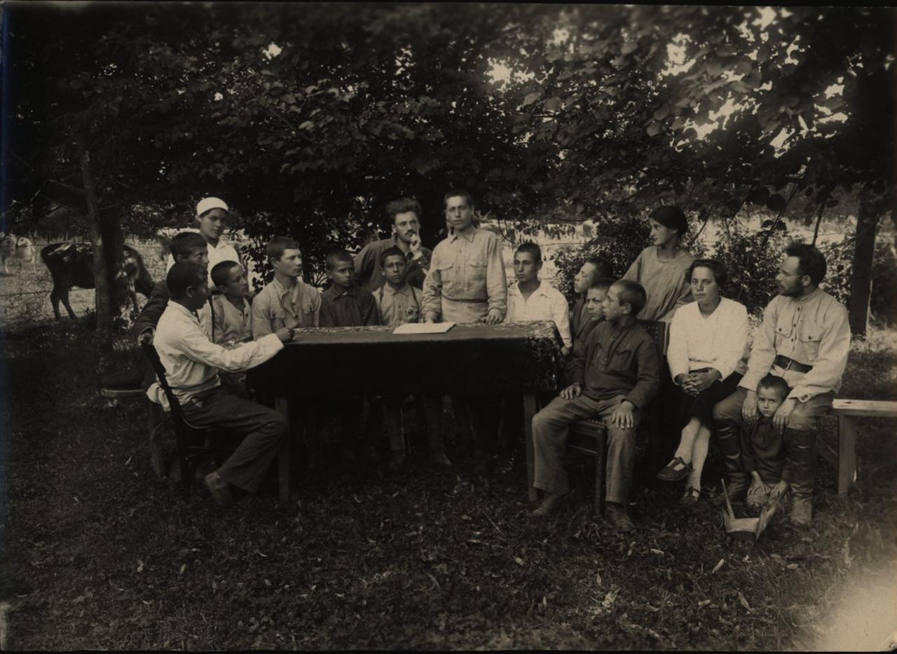 Сельскохозяйственная школа (ферма) под Минском. 1922.