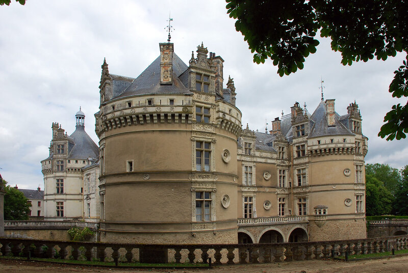 Le Lude castle Le Lude, Sarthe Pinterest Castles