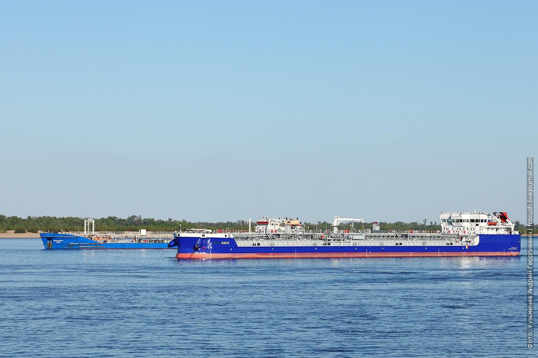 Танкер «Волгонефть-262» 1978 года постройки и танкер «Sinergy 1» 2015 года постройки