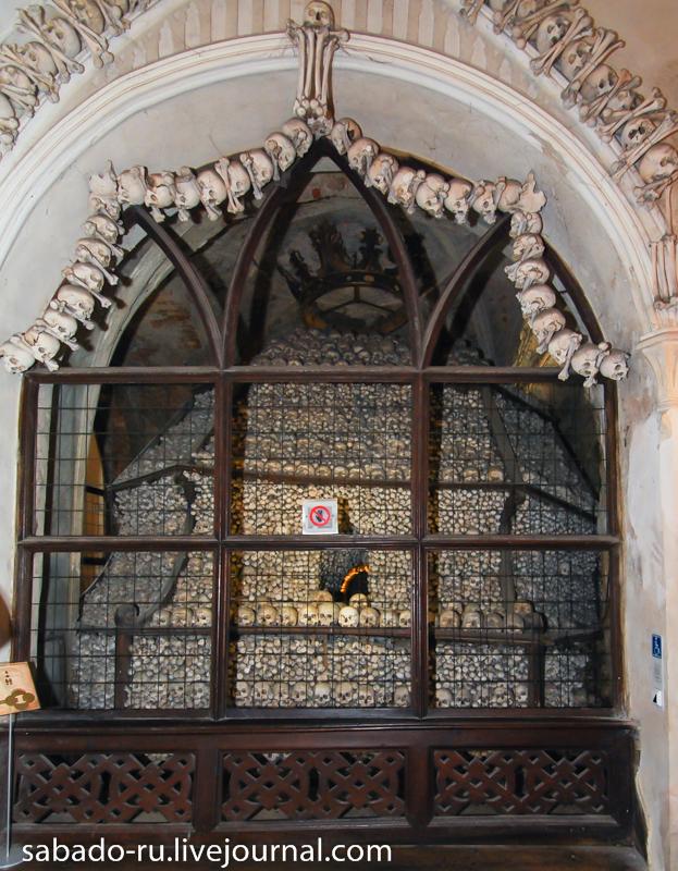 церковь из костей в кутна горе