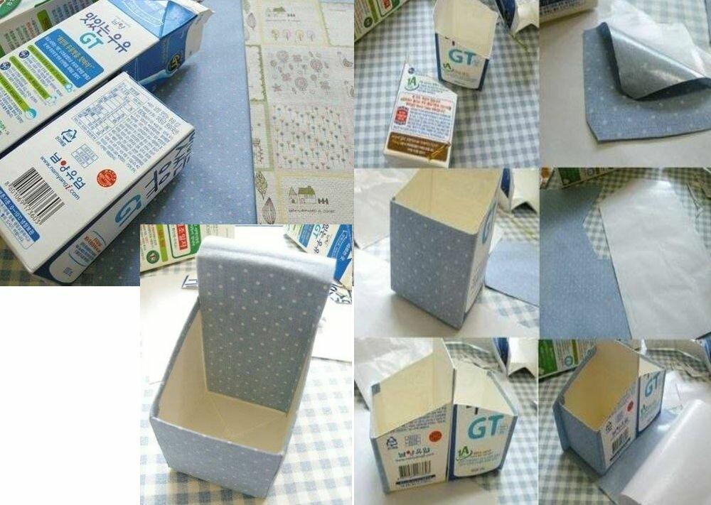 Как сделать коробку для молока своими руками 33