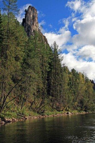 Скалы реки Ивдель
