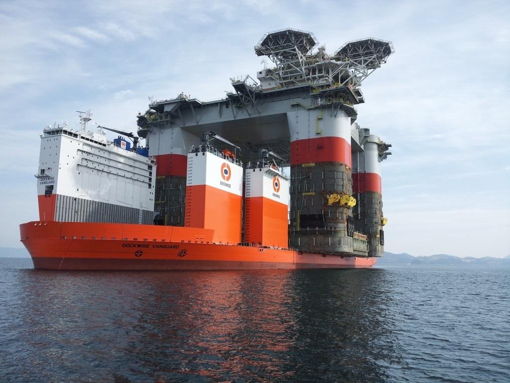 Самый большой в мире корабль - док