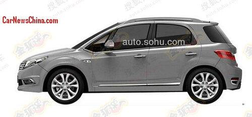 Китайский клон: электрический Suzuki SX4
