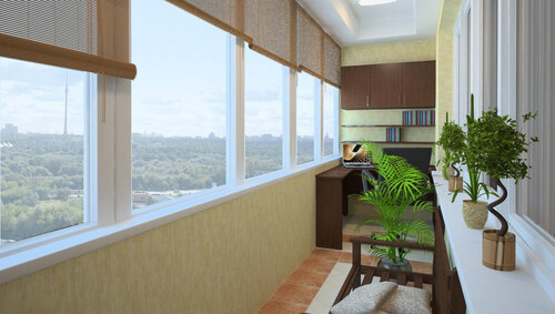 Остекление балконов – больше места