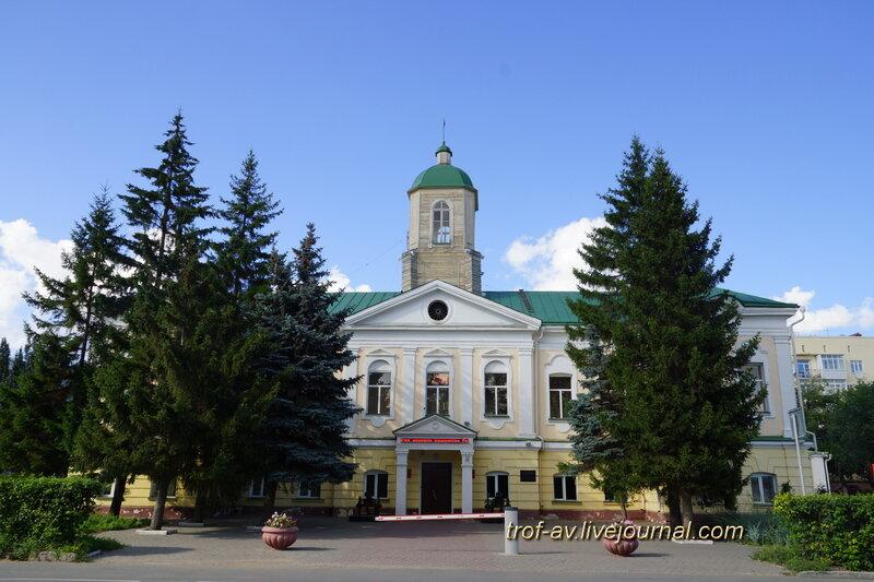 Бывшая гауптвахта (1781 г.), военкомат Омской области